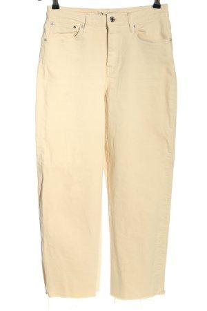Mavi Straight-Leg Jeans creme Casual-Look