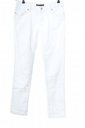 Mavi Straight-Leg Jeans weiß Casual-Look