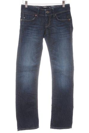 Mavi Straight-Leg Jeans blau-dunkelblau Casual-Look