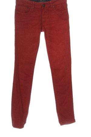 Mavi Straight-Leg Jeans rot Casual-Look