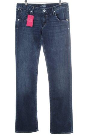 Mavi Straight-Leg Jeans dunkelblau-blau Casual-Look