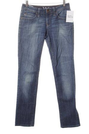 Mavi Straight-Leg Jeans dunkelblau Casual-Look