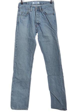 Mavi Jeansy z prostymi nogawkami niebieski W stylu casual