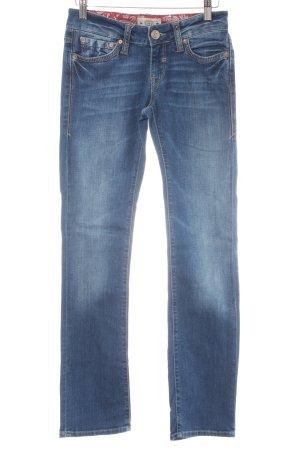 Mavi Straight-Leg Jeans mehrfarbig Casual-Look