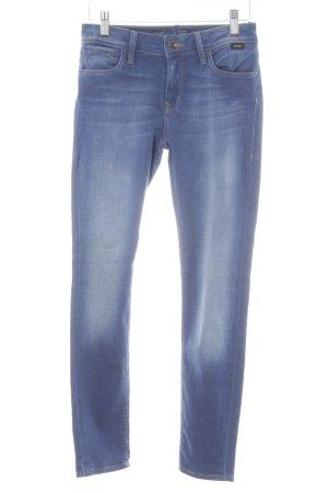 Mavi Stretch Jeans blau Farbverlauf Casual-Look