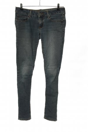 Mavi Stretch jeans blauw casual uitstraling