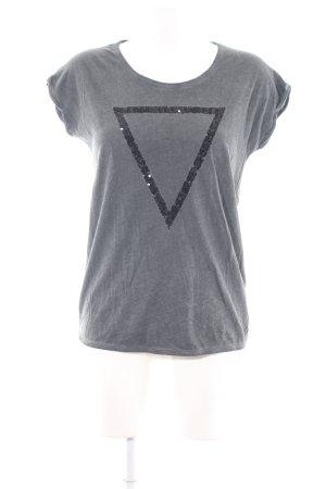 Mavi T-Shirt hellgrau Casual-Look