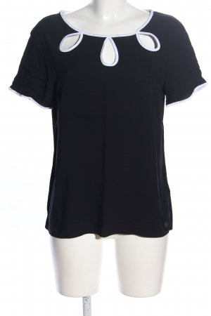 Mavi T-Shirt schwarz-weiß Casual-Look