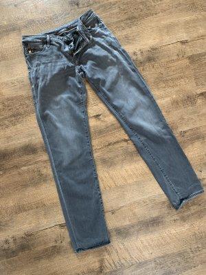 Mavi Jeansy z prostymi nogawkami szary