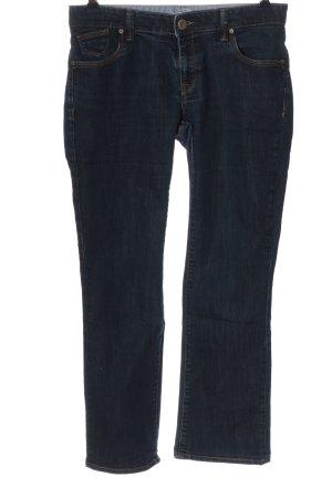 mavi UPTOWN Jeansschlaghose blau Casual-Look