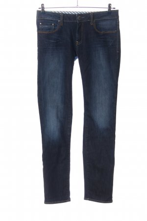 mavi UPTOWN Straight-Leg Jeans blau Street-Fashion-Look