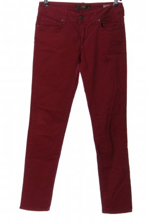 mavi UPTOWN Straight-Leg Jeans rot Casual-Look