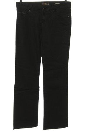 mavi UPTOWN Straight-Leg Jeans schwarz Casual-Look