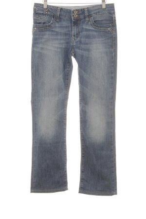 mavi UPTOWN Straight-Leg Jeans blau schlichter Stil