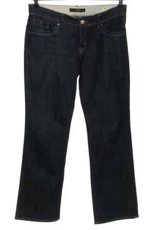 mavi UPTOWN Straight-Leg Jeans blau Casual-Look