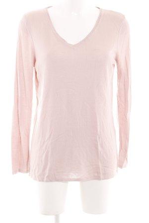 Mavi V-Ausschnitt-Pullover pink Casual-Look
