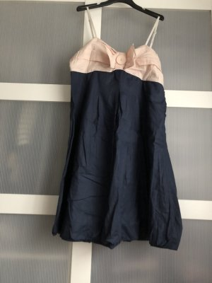 Max C Sukienka z rękawem balonowym niebieski-różany