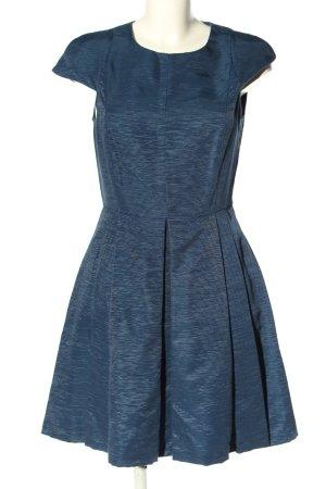 Max & Co. Abendkleid blau Streifenmuster Casual-Look