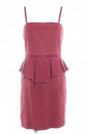 Max & Co. Bandeau Dress dark red-bordeaux casual look
