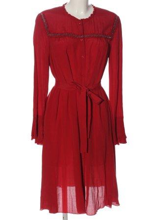 Max & Co. Blusenkleid rot Elegant