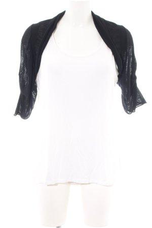 Max & Co. Bolero white-black casual look