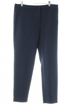 Max & Co. Bundfaltenhose dunkelblau Business-Look