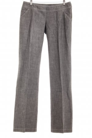 Max & Co. Bundfaltenhose grau meliert Business-Look