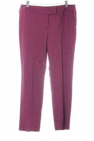 Max & Co. Bundfaltenhose purpur Business-Look