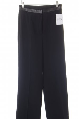 Max & Co. Pantalone a pieghe nero stile classico