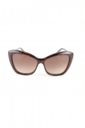 Max & Co. Butterfly Glasses black brown spot pattern simple style