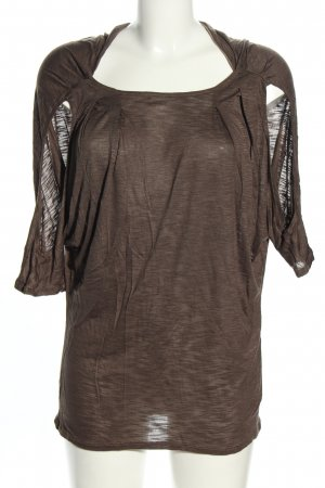 Max & Co. Cut Out Top bronze-colored flecked casual look