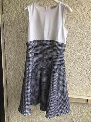 Max & Co. Midi Dress white-dark blue