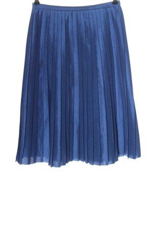 Max & Co. Faltenrock blau Casual-Look