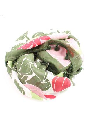 Max & Co. Fazzoletto da collo cachi-rosa motivo grafico stile casual