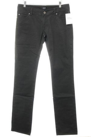 Max & Co. Jeans taille basse noir Aspect de jeans