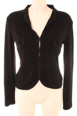 Max & Co. Jerseyblazer schwarz Casual-Look