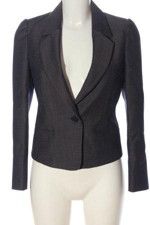 Max & Co. Klassischer Blazer grigio chiaro puntinato stile professionale