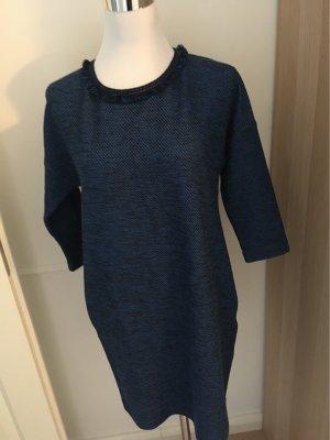 Max & Co. Abito di maglia blu-nero