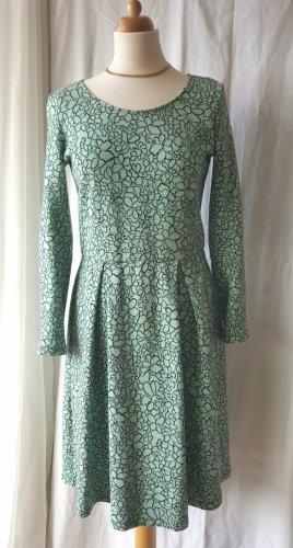 Max & co. Kleid mit langen Ärmeln und Kellerfalten