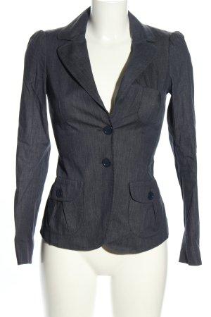 Max & Co. Kurz-Blazer blau meliert Business-Look