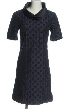 Max & Co. Shortsleeve Dress blue spot pattern casual look
