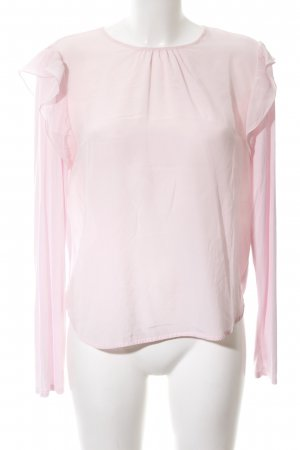 Max & Co. Langarm-Bluse pink Business-Look