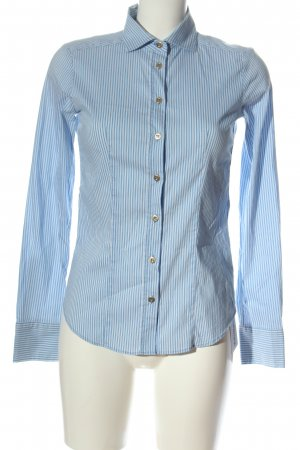 Max & Co. Long Sleeve Shirt blue-white striped pattern casual look