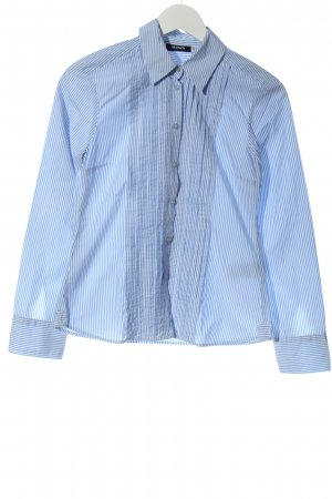 Max & Co. Long Sleeve Shirt blue-white striped pattern business style