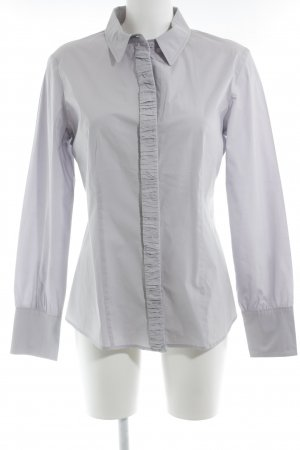 Max & Co. Long Sleeve Shirt light grey cotton