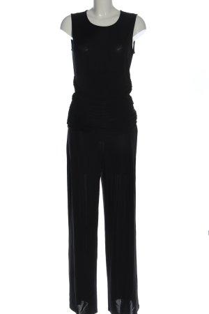 Max & Co. Langer Jumpsuit black party style