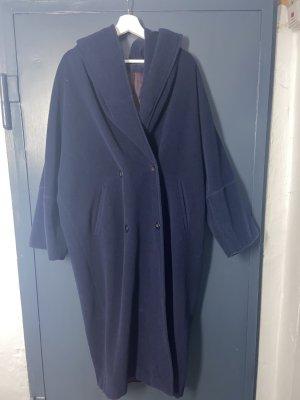 Max & Co. Abrigo ancho azul oscuro