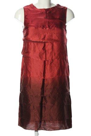 Max & Co. Minikleid rot-braun Farbverlauf Elegant