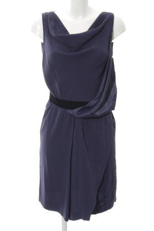 Max & Co. Minikleid blau-schwarz Elegant