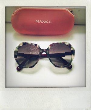 Max & Co. Occhiale da sole spigoloso multicolore